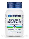 Enhanced Natural Sleep w/o Melatonin - 30 Capules