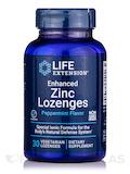 Enhanced Zinc Lozenges, Peppermint Flavor - 30 Vegetarian Lozenges