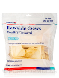 Dental Rawhide Enzymatic Chews, Poultry Flavored for Large Dogs 26-50 lbs (Formerly Enzy-Chews) - 30