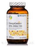 OmegaGenics® EPA-DHA 720 Natural Lemon-Lime Flavor - 120 Softgels