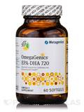 OmegaGenics™ EPA-DHA 720 Natural Lemon Flavor 60 Softgels
