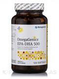 OmegaGenics™ EPA-DHA 500 Natural Lemon Flavored - 120 Softgels
