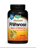 EFAGold® Evening Primrose Cold Pressed Oil 1300 mg with 10% GLA - 120 Softgels