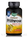 EFAGold® Evening Primrose Cold Pressed Oil 1300 mg with 10% GLA - 60 Softgels