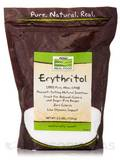 NOW Real Food® - Erythritol Natural Sweetener - 2.5 lbs (1134 Grams)