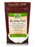 NOW® Real Food - Erythritol Natural Sweetener - 1 lb (454 Grams)