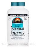 Essential Enzymes 500 mg 240 Vegetarian Capsules