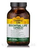 Essential Life 120 Vegetarian Capsules