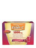 Ester-C® 1000 mg Effervescent, Pomegranate Flavor - 1 Box of 21 Single Serving Packets