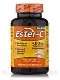 Ester-C® 500 mg with Citrus Bioflavonoids - 120 Capsules