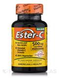 Ester-C® 500 mg with Citrus Bioflavonoids 60 Vegetable Capsules