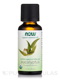 NOW® Essential Oils - Eucalyptus Oil (Organic) - 1 fl. oz (30 ml)