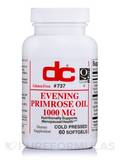 Evening Primrose Oil 1000 mg 60 Softgels