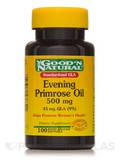 Evening Primrose Oil 500 mg (45 mg GLA) - 100 Softgels