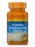 Evening Primrose Oil 500 mg 30 Softgels