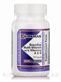 EveryDay Multi-Vitamin w/o Vitamins A & D -Hypoallergenic - 125 Capsules