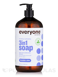 Everyone® Soap 3-In-1 (Shampoo, Body Wash, Bubble Bath), Lavender + Aloe - 32 fl. oz (946 ml)