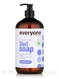 Everyone® Soap 3-In-1 (Shampoo, Body Wash, Bubble Bath), Lavender + Aloe - 32 fl. oz (946 ml)