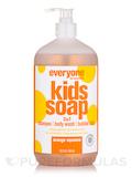 Everyone® Soap for Kids 3-In-1 (Head, Shoulders, Knees+Toes), Orange Squeeze - 32 fl. oz (946 ml)