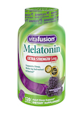 Extra Strength Melatonin 5 mg, Natural Blackberry Flavor - 120 Gummies
