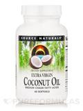 Extra Virgin Coconut Oil - 60 Softgels
