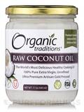 Raw Coconut Oil - 17 oz (500 ml)