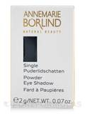 Powder Eye Shadow Single - Black 0.07 oz
