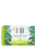 Coco Fiji™ Face & Body Coconut Oil Infused Bar Soap, Coconut Lime - 7 oz (198 Grams)