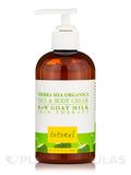 Face & Body Cream, Coconut - 8 fl. oz (226 Grams)