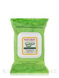 Facial Cleansing Towelettes, Cucumber & Sage (for Normal to Dry Skin) - 30 Pre-Moistened Towelettes