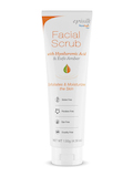 Facial Scrub with Hyaluronic Acid & Exfo Amber - 4.58 oz (130 Grams)