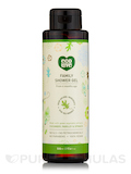 Family Shower Gel - Cucumber, Parsley & Spinach (Green Vegetable Extracts) - 17.6 fl. oz (500 ml)