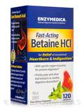 Fast-Acting Betaine HCL - 120 Capsules