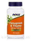 Fenugreek & Thyme 500 mg - 100 Capsules