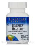 Feverfew Head Aid 615 mg 16 Tablets