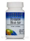 Feverfew Head Aid 615 mg 50 Tablets