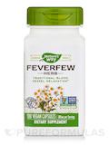 Feverfew Leaves 380 mg 100 Capsules