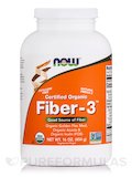 Fiber-3™ (Certified Organic) - 16 oz (454 Grams)