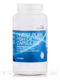 Finest Pure Fish Oil Capsules (Orange) - 120 Softgel Capsules