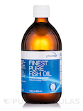 Finest Pure Fish Oil, Orange - 16.9 fl. oz (500 ml)