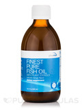 Finest Pure Fish Oil with Plant Sterols and Essential Oil of Orange - 10.1 fl. oz (300 ml)