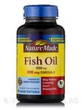 Fish Oil 1000 mg Omega-3 300 mg - 90 Softgels