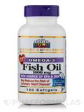 Fish Oil 1000 mg Omega-3 120 Softgels