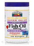 Fish Oil 1000 mg Omega-3 300 Softgels