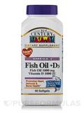 Fish Oil 1000 mg plus D3 90 Softgels