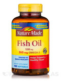 Fish Oil 1200 mg Omega-3 360 mg - 100 Softgels