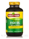 Fish Oil 1200 mg Omega-3 360 mg Burp-Less - 200 Softgels