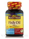Fish Oil 1200 mg Omega-3 360 mg (Lemon) 60 Softgels