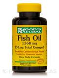 Fish Oil 1360 mg 950 mg Total Omega-3 - 60 Softgels