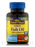 Fish Oil 500 mg Omega-3 360 mg Mini 60 Softgels
